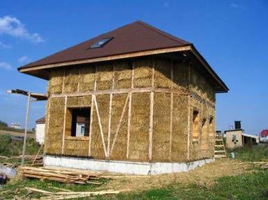 Сколько стоит солома для строительства дома