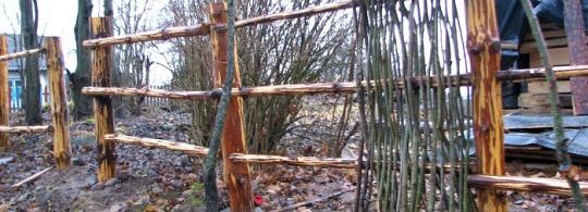 Забор-плетень своими руками (фото)