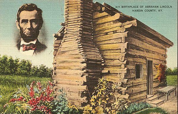 Дом Линкольна — президентская хибара из дерева и глины