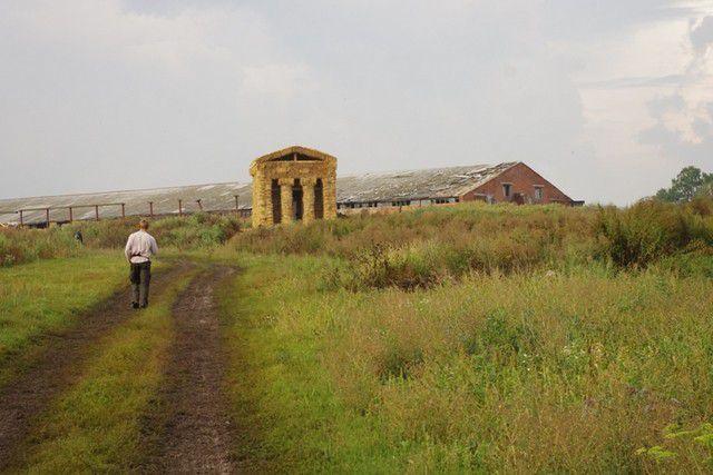 Храм из соломы — первое место на архитектурном фестивале