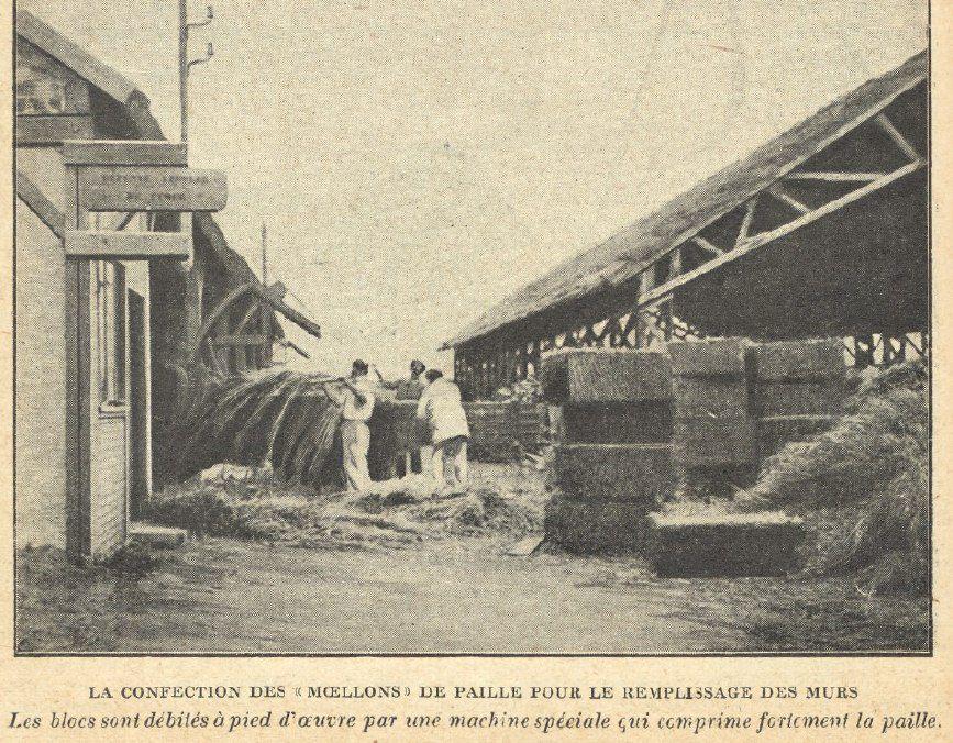 Соломенный дом 100-летней давности