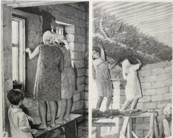 Как замешивали глину в старину