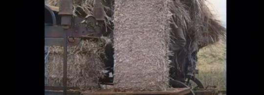 Старинный тюкователь соломы 1919 года из Голландии