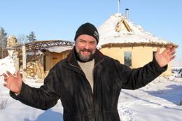 Евгений Широков - первопроходец соломенного строительства в Беларуси