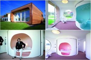 Вращающийся дом от Луиджи Колани