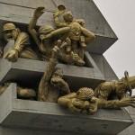 Памятник футбольным болельщикам