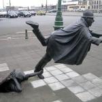 Памятник шутке над полицейским