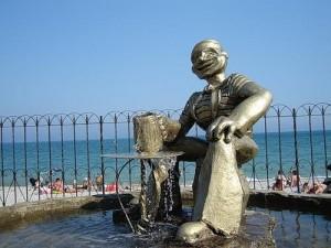 Памятник моряку. Коктебель