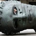 Памятник забинтованной голове