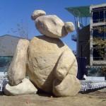 Памятник из обычных камней