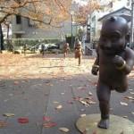 Памятник младенцу