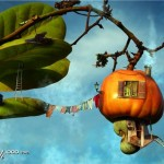 Съедобный дом на дереве