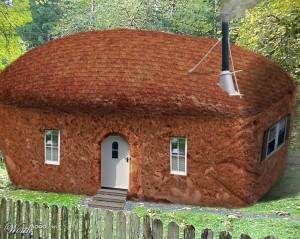 Дом - буханка хлеба