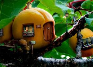 Дом-персик