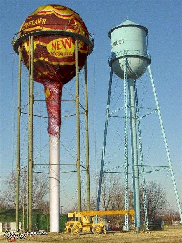 Водонапорная башня своими руками фото 879