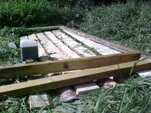 Антисептик для дерева - строительство сарая