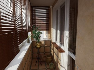 Балконные жалюзи защищают от солнца