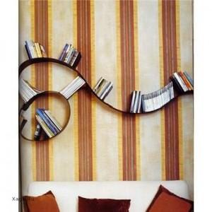Фигурная полка для книг