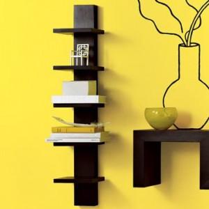 Полка для книг вертикальная