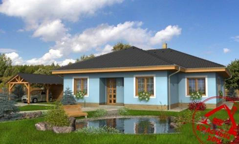 Проект одноэтажного дома 150 кв.м.