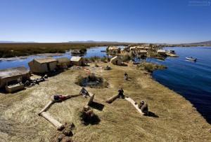 Соломенный остров в Боливии