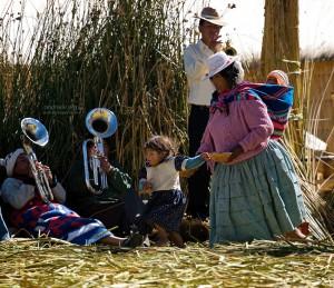 Тростниковый остров в Перу