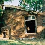 Вход в соломенный дом