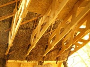 Вид под крышей