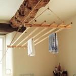 Сушилка потолочная навесная на веревке