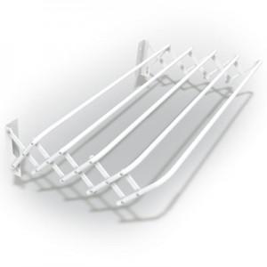 Сушилка для белья боковая раздвижная, металлическая