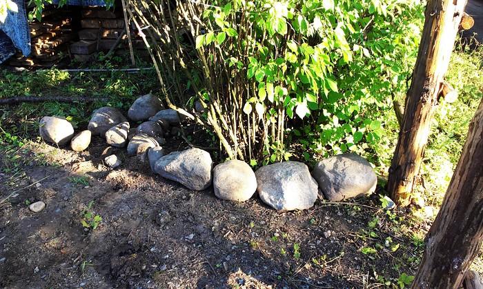 Камушки из земли
