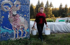 Пенсионерка Ольга Костина из российского села Камарчага