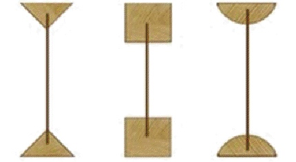 Варианты фермы с поясами (полками)