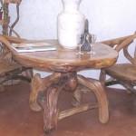 Столик в стиле рустик
