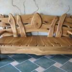 Скамья в скандинавском стиле