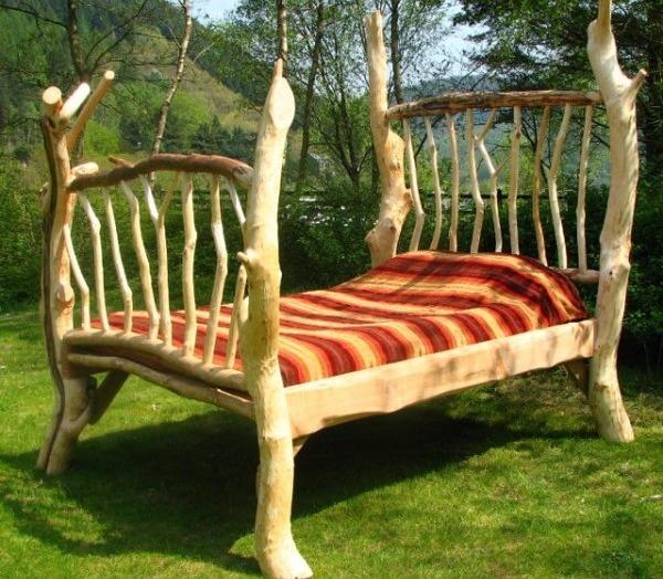 14 Спальня своими руками в деревенском стиле