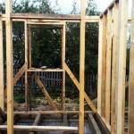 Каркасный дом: внутренние проемы