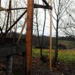 Строительные леса из дерева своими руками