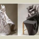 Оригинальная накидка на стулья