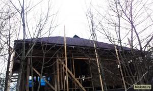 Вид на крышу снизу