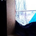 Готовый проем окна с откосом из OSB-3