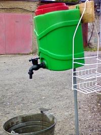 Рукомойник своими руками из 5-литрового контейнера