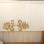 Столик на балконе в собранном виде