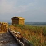 Вид на храм из соломы сзади