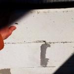 ГС блок шатается в стене