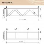 Соломенные панели Экокон - чертеж