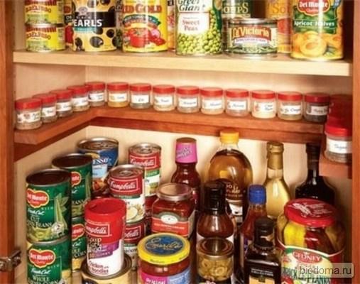 Полочка для специй в любом кухонном шкафу