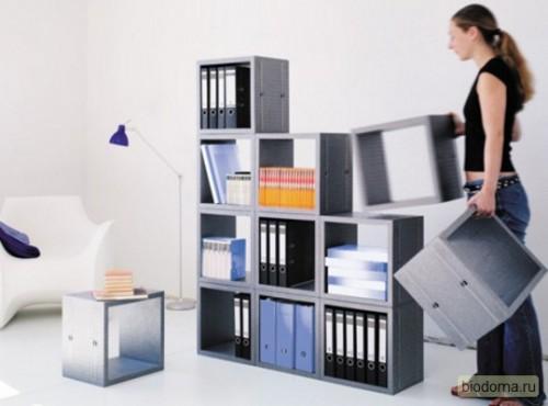 Ящики-коробки для хранения, которые можно разбирать - мечта для тех, у кого квартиры небольшие. Ну и на балконы они тоже подойдут...