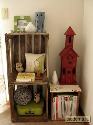 Ящик для детских игрушек своими руками тоже делается совсем просто:)