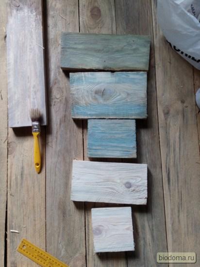 Экспериментируем с брашированием древесины